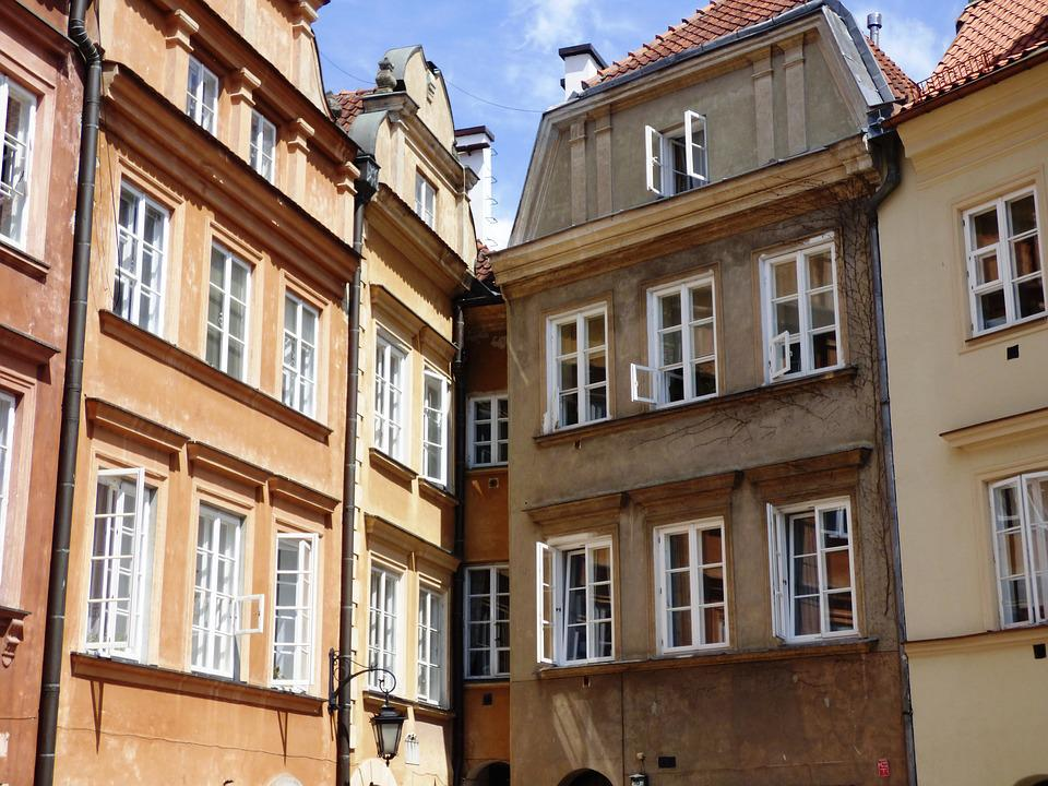 Kamienica, Townhouses, The Market, The Window, Shutters