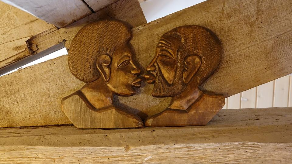 Wood, Kanak, Sculpture New Caledonia, Noumea