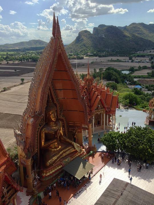 Temple, Thailand, Kanchanaburi