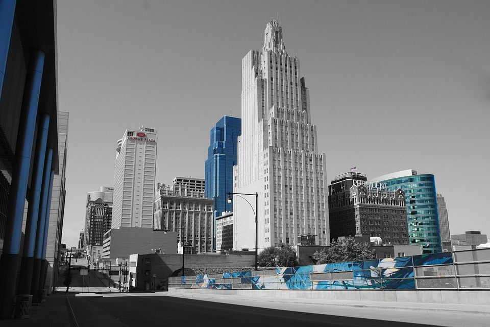 Kansas City, Power And Light, City, Skyscraper, Urban