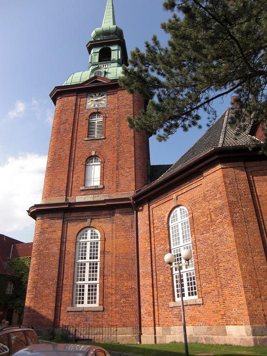 Kappeln, Schlei, Mecklenburg, Church