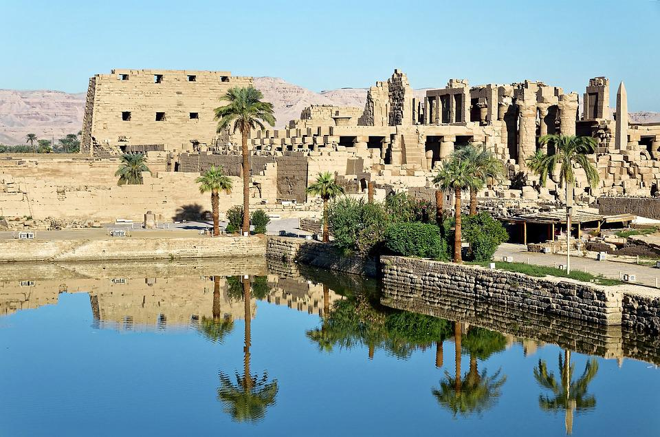 Egypt, Luxor, Karnak Temple, Architecture, Travel