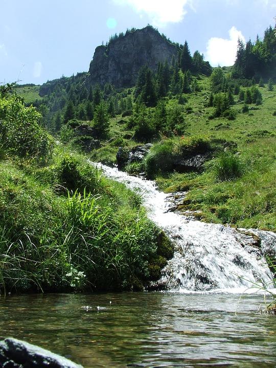 Mountain Stream, Water, Karst, Waterfall, Wet