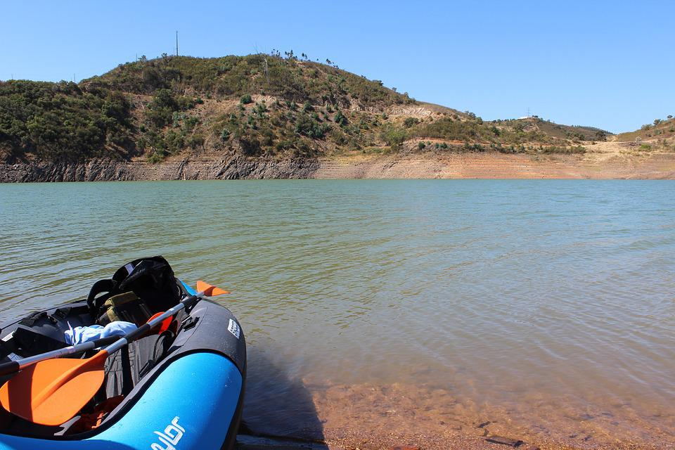 Travel, Water, Nature, Outdoors, Sky, Kayak, Algarve