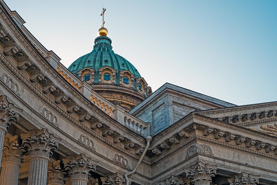Kazan Cathedral, Spb, St Petersburg Russia, Russia