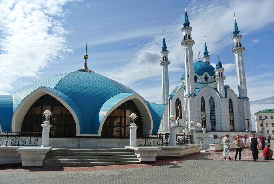 Mosque, Kazan, Qolsharif Mosque