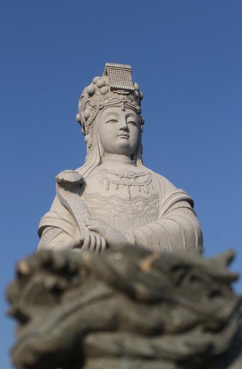 Patung, Klenteng, Kediri, Jawa Timur, Java, Indonesia