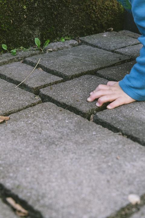 Child, Hand, Children, Hands, Child's Hand, Keep, Sand