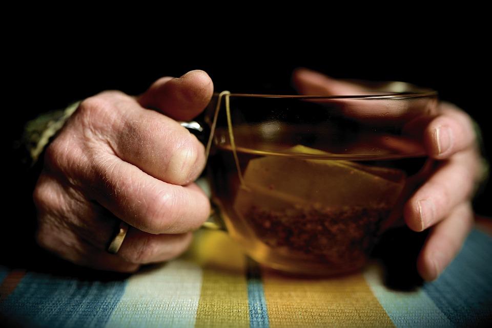 Hands, Old Hands, Seniors, Tee, Teacup, Tea Bags, Keep
