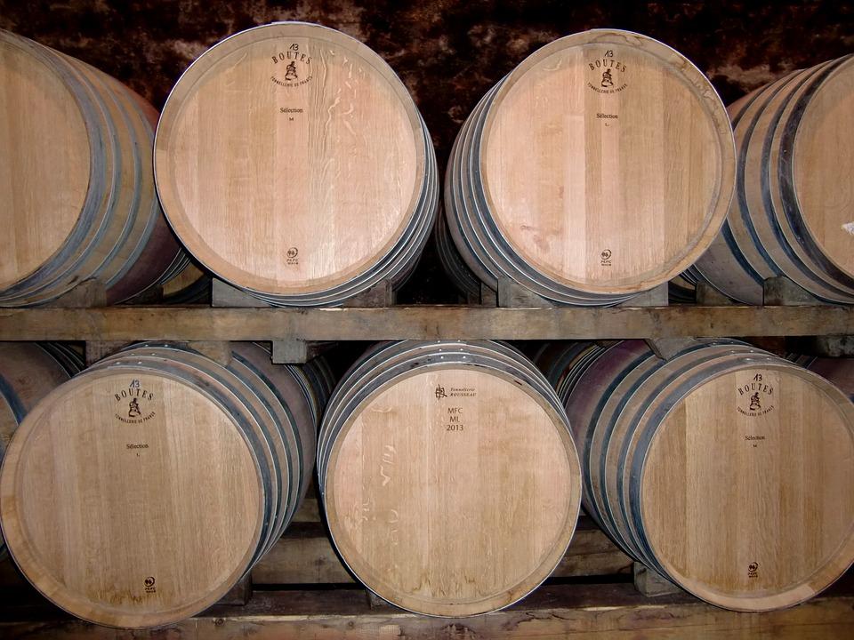 Cellar, Wine Barrels, Barrels, Wine, Keller, Barrel