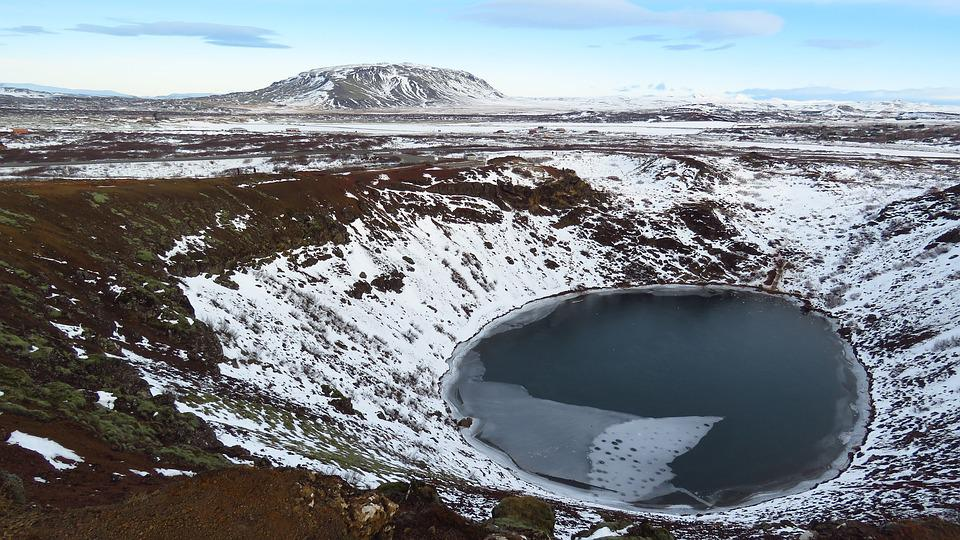Iceland, Kerid, Crater, Volcanic Crater