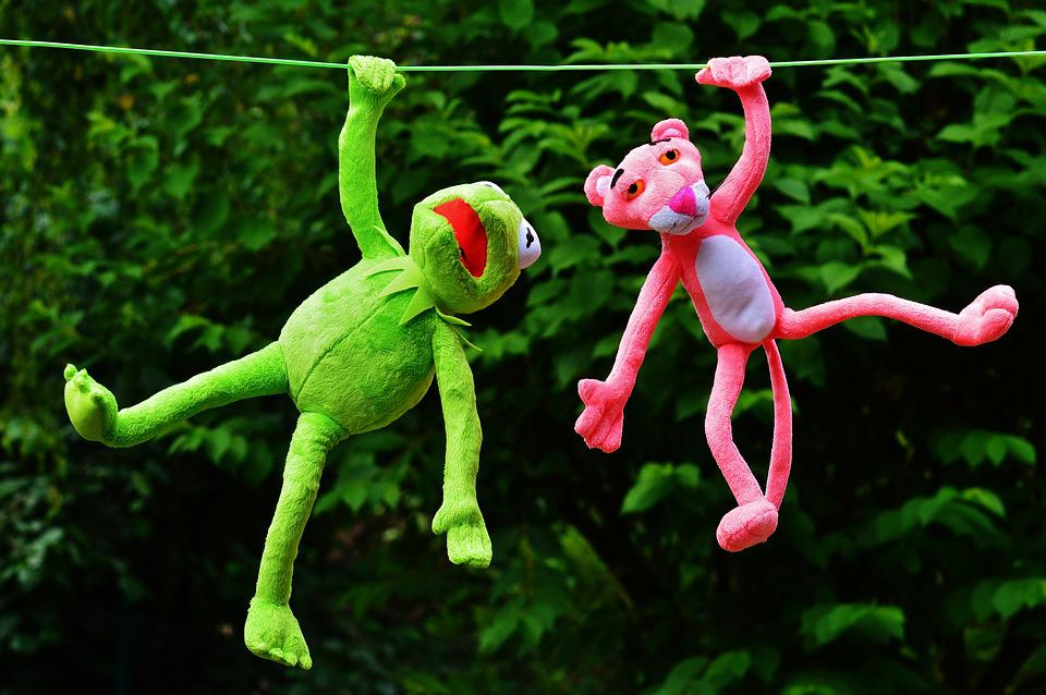 Hang Out, Plush Toys, Kermit, The Pink Panther, Toys