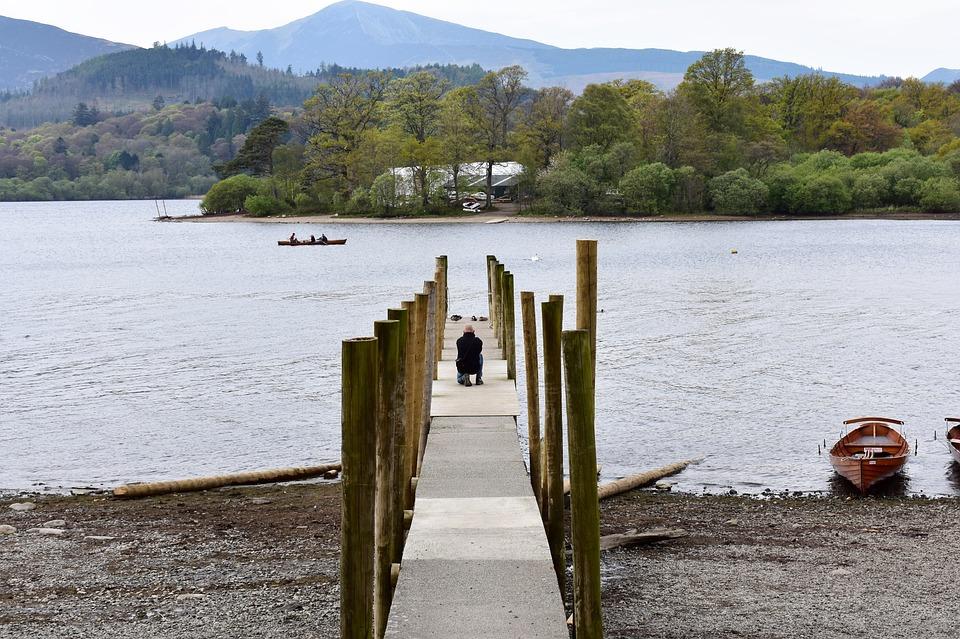 Jetty, Lake, Lake District, Keswick