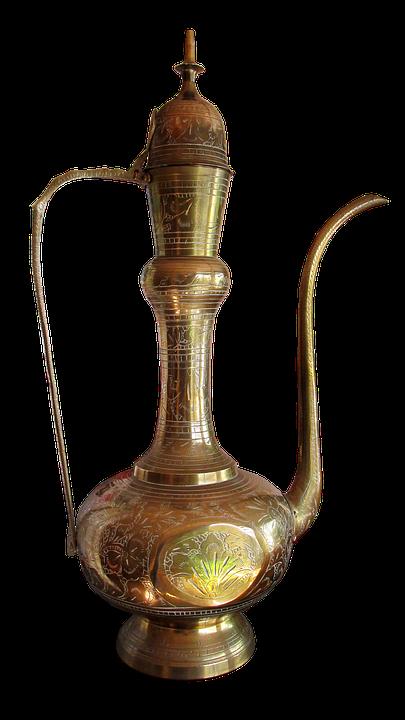 Brass, Pot, Decoration, Kettle, Household, Ornament