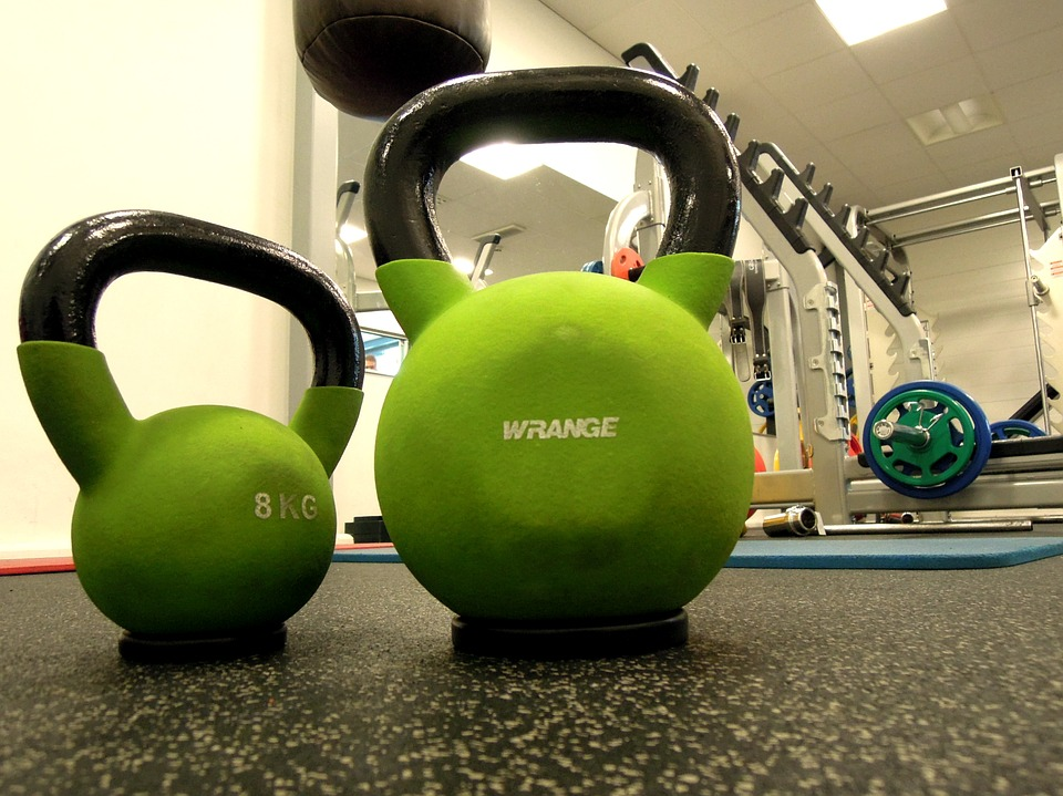Weights, Kettlebell, In The Gym, Fitness, Sports