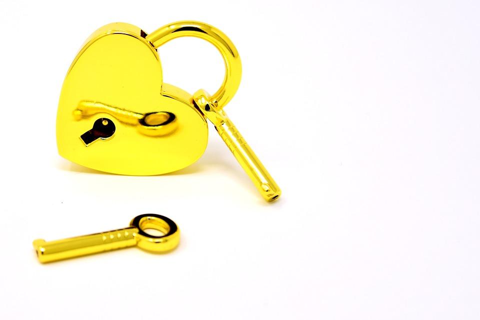 Free Photo Key Key To The Heart Symbol Castle Heart Love Max Pixel