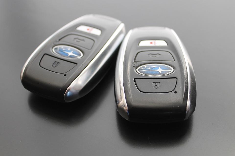 Free Photo Key Subaru Car Key Ring Keyless Access Max Pixel