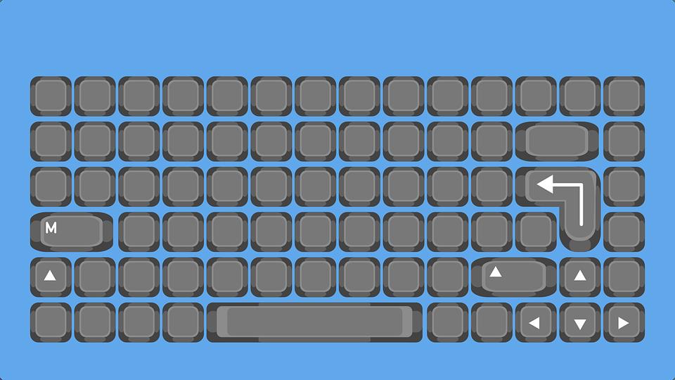 Keyboard, Key, Keys, Computer, Typewriter, Writing
