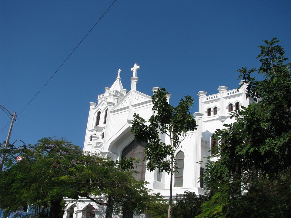 Key West Church, Key West, Architecture, Landmark