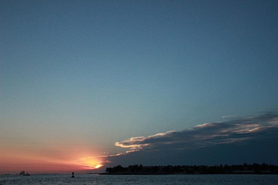 Key West, Sunset, Florida, Mood, Sky, Dusk