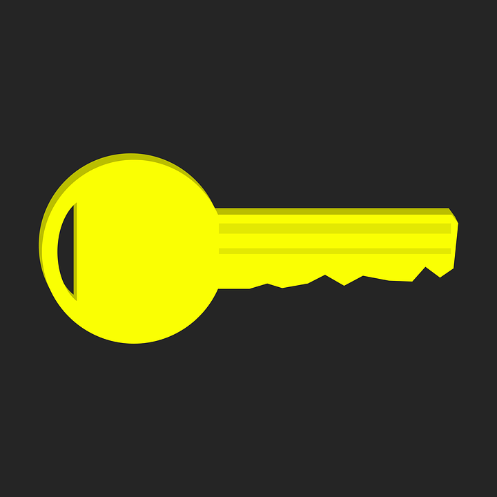 Key, Key Service, Yellow, Gold, Golden, Golden Key