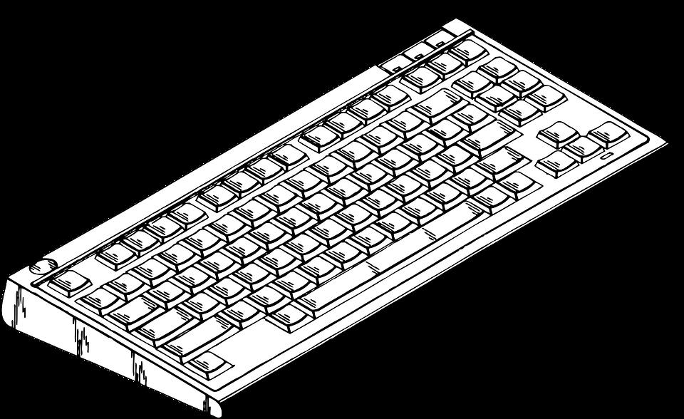 Keyboard, Key, Board, Electronics, Hardware, Input