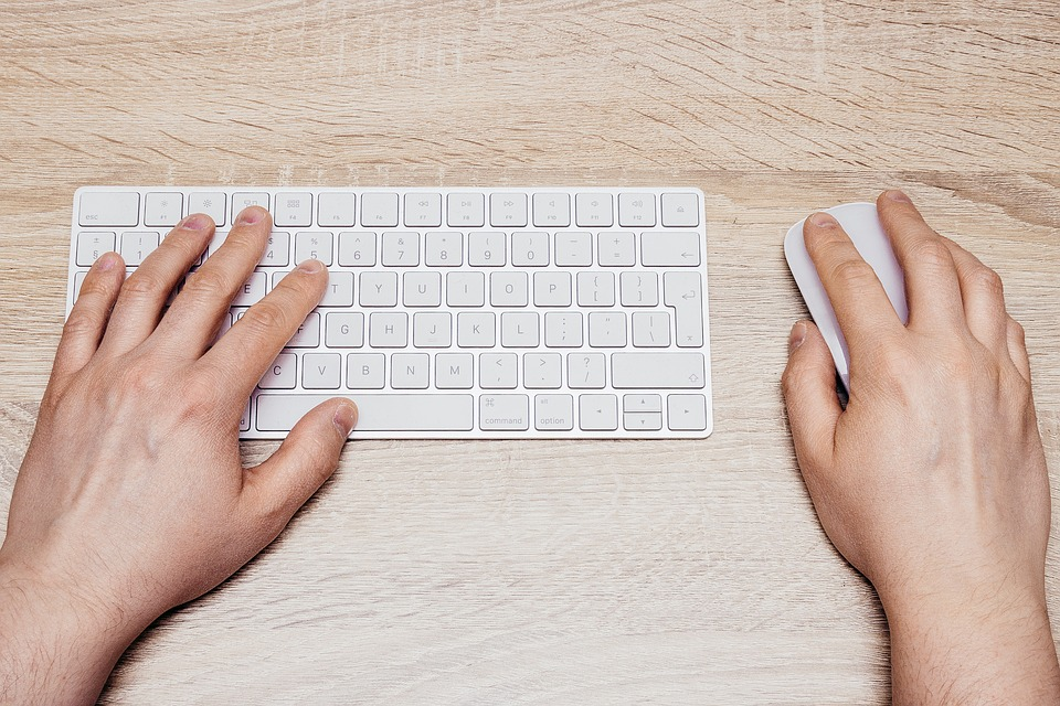 Keyboard, Type, Typing, Letters, Gadget, White