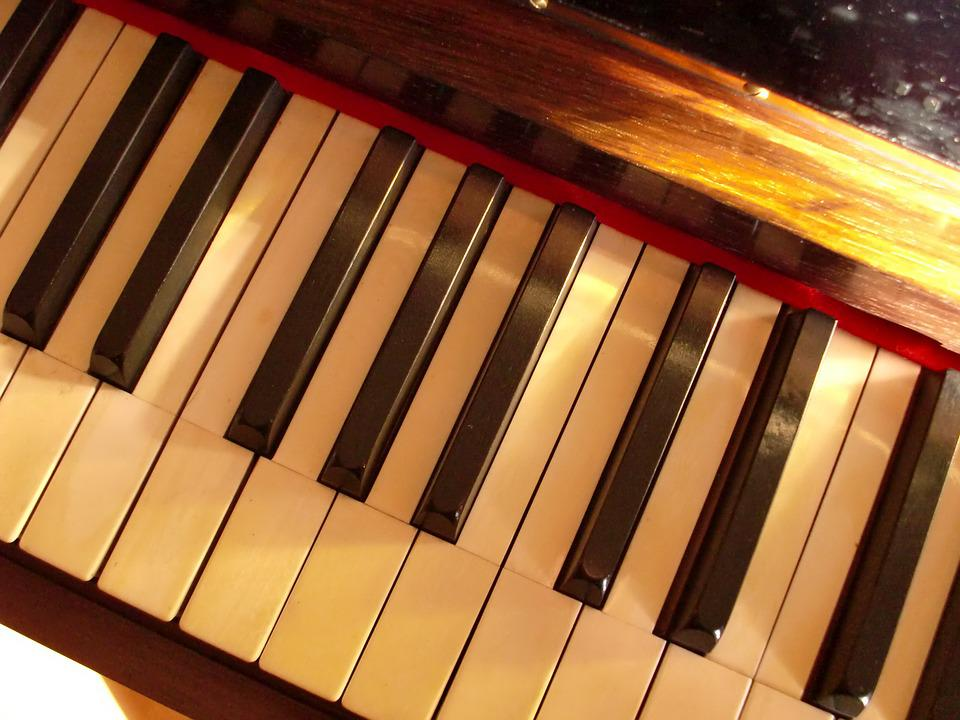 Piano, Ivory, Keys, Keyboard, Sound, Music