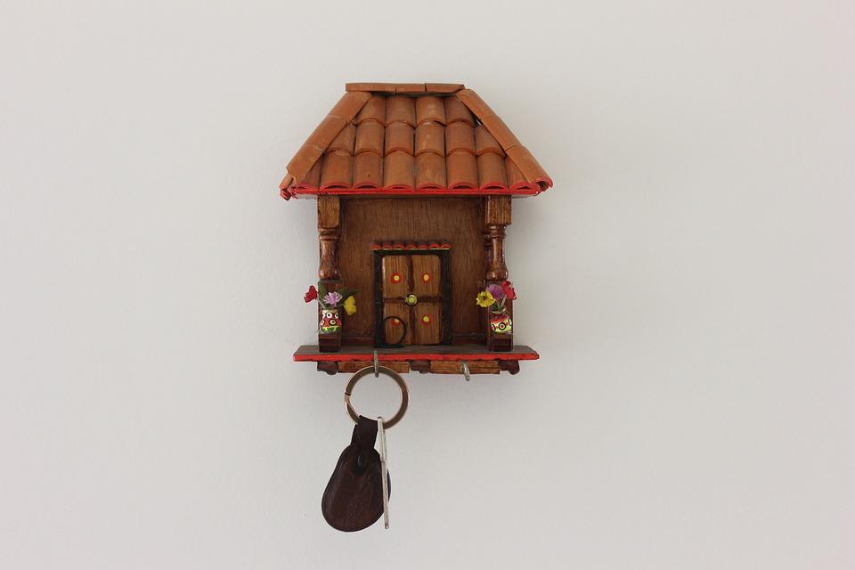 Crafts, Keychain, House