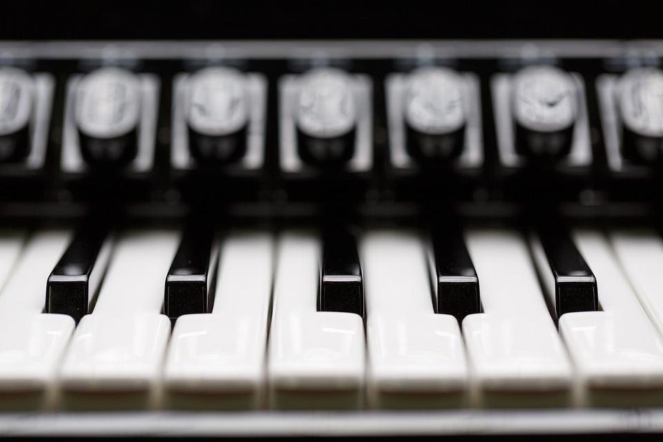Keys, Accordion, Piano, Music, Scale, Piano Keys