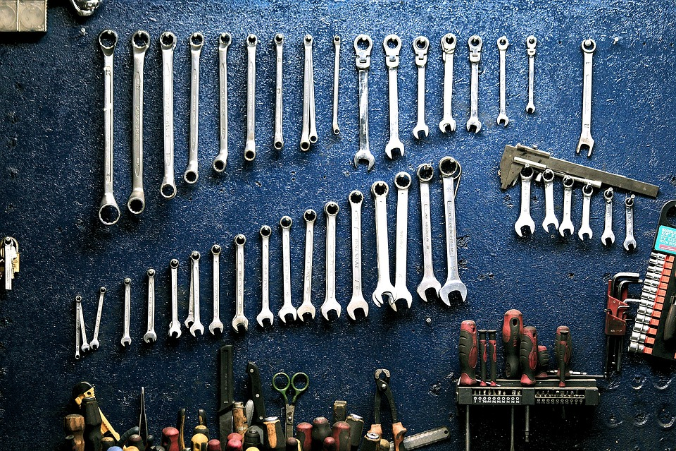 Keys, Workshop, Mechanic, Tools