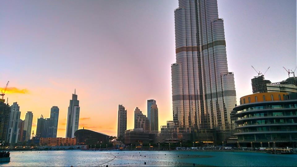 Dubai, Khalifa, Burj, Emirates, Skyscraper