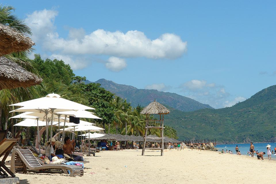 Nha Trang Beach, Khanh Hoa, Vietnam