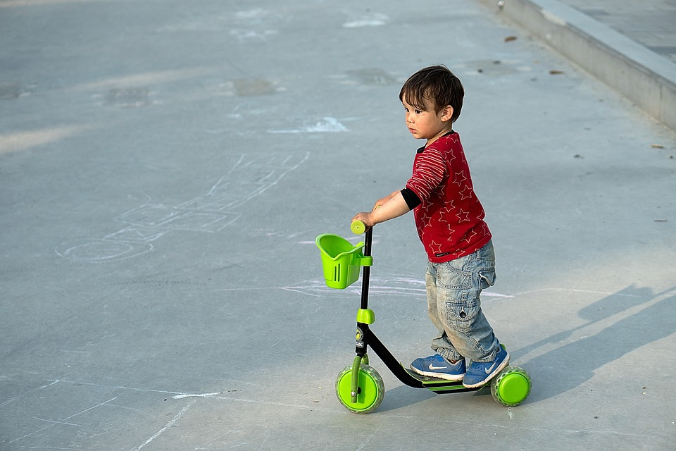 Free Photo Kick Bike Boy Scooter Child Fun Young Park Max Pixel