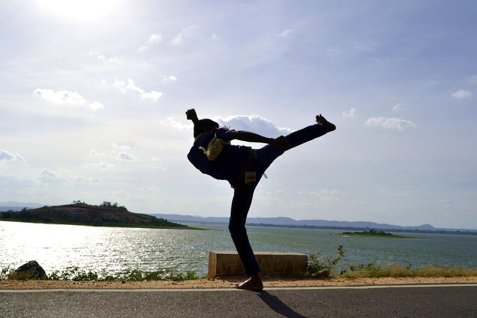 Side Kick, Kick, Martial Arts, Kung Fu, Karate