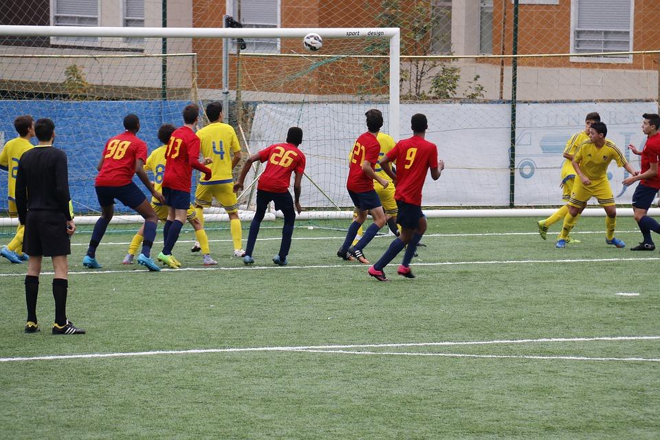Goal, Football, Ball, Sport, Move, Kick, Team, Shot