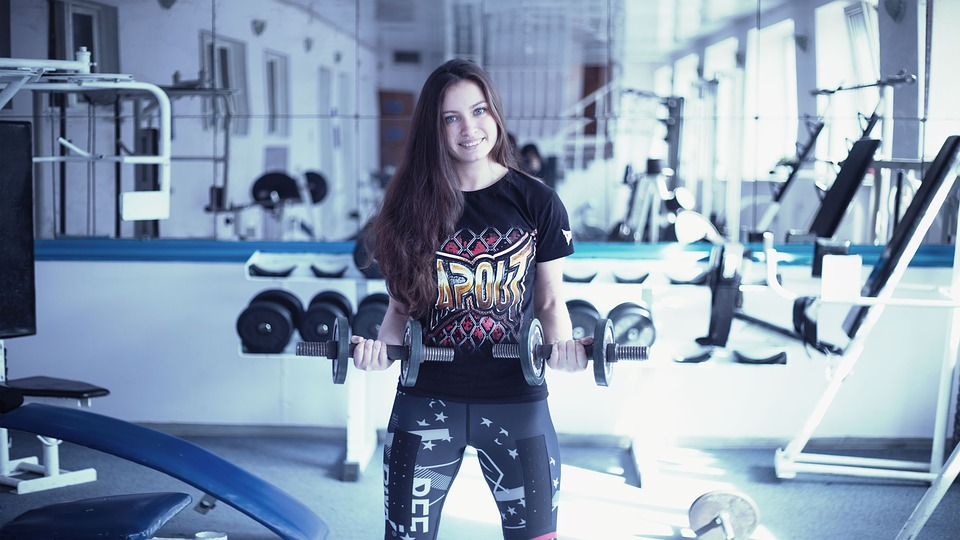Girl In The Gym, Training Apparatus, Kickboxing, Boxing