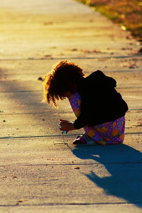 Child, Girl, Kid, Camera, Daughter, Biracial