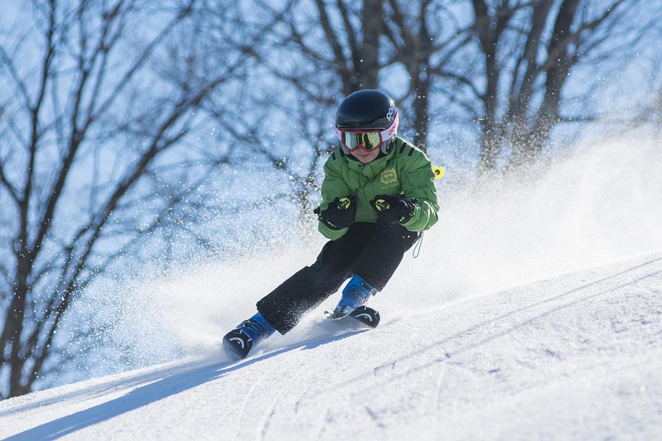 Boy, Ski, Skiing, Cold, Goggles, Kid, Person, Snow