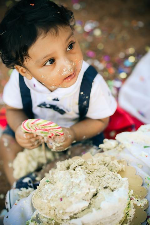 Cake, Cakesmash, Kids, Children, Happiness, Child, Kid