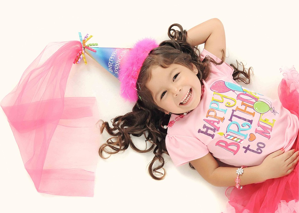 Girl, Fairy, Happy, Pink, Birthday, Kid, Studio