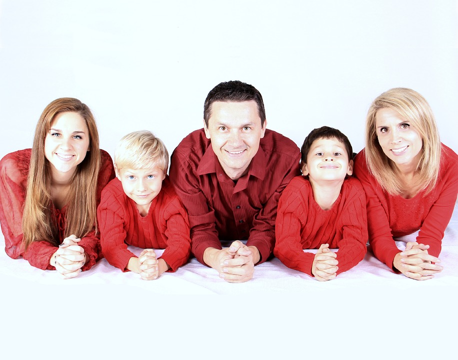 Family, Kids, Happy, People, Mother, Father, Kid, Smile