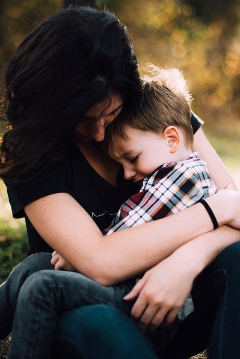 Mother, Woman, People, Kid, Baby, Child, Hug, Love