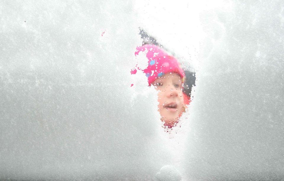 Winter, Snow, Kid