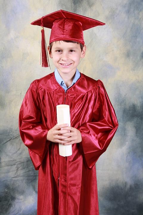 Boy, Graduate, Portrait, Kid, Child, Young, Male