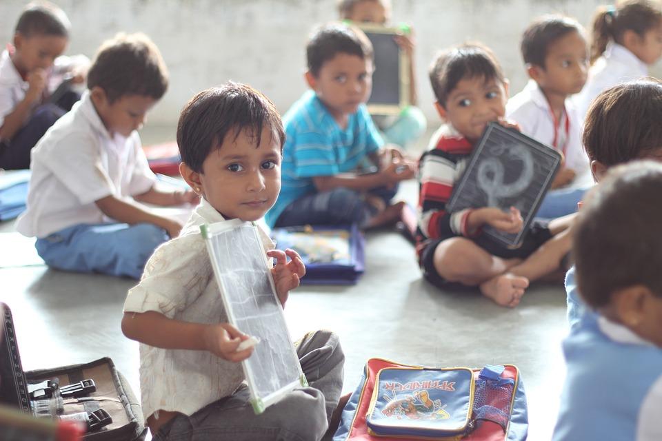 School, India, Children, Ahmedabad, Infant, Kids