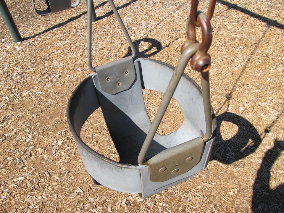 Swing, Playground, Swinging, Park, Kids Playground