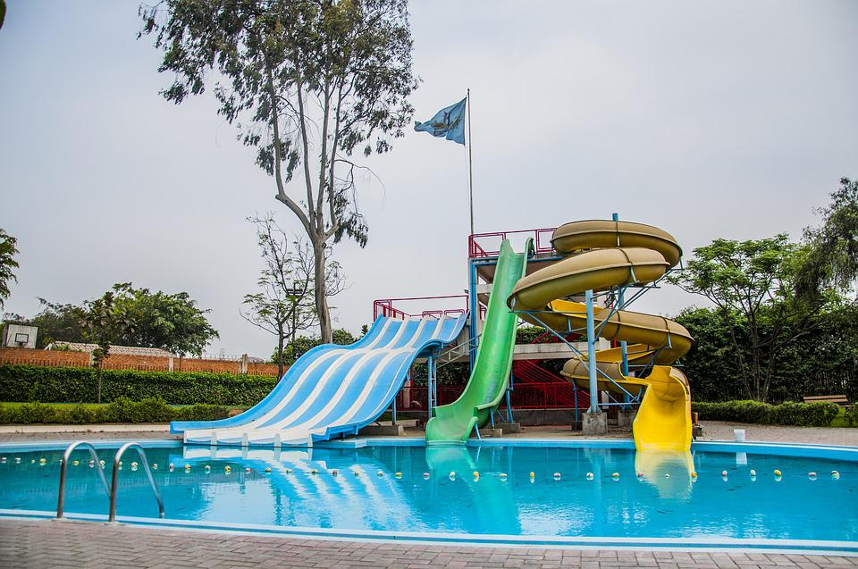 Park, Water Park, Fun, Kids, Summer, Water, Recreation