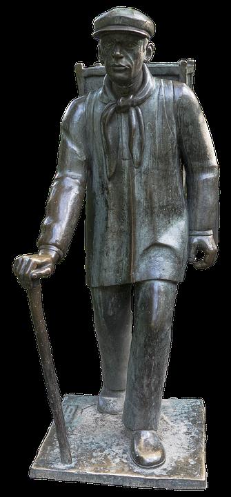 Kiepenkerl, Kiepe Guy Memorial, Monument, Bronze Statue