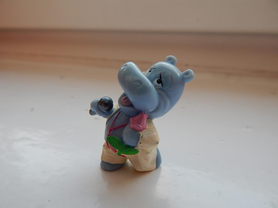 Toy, Hippo, Kinder Surprise, Kinder Egg, Singer
